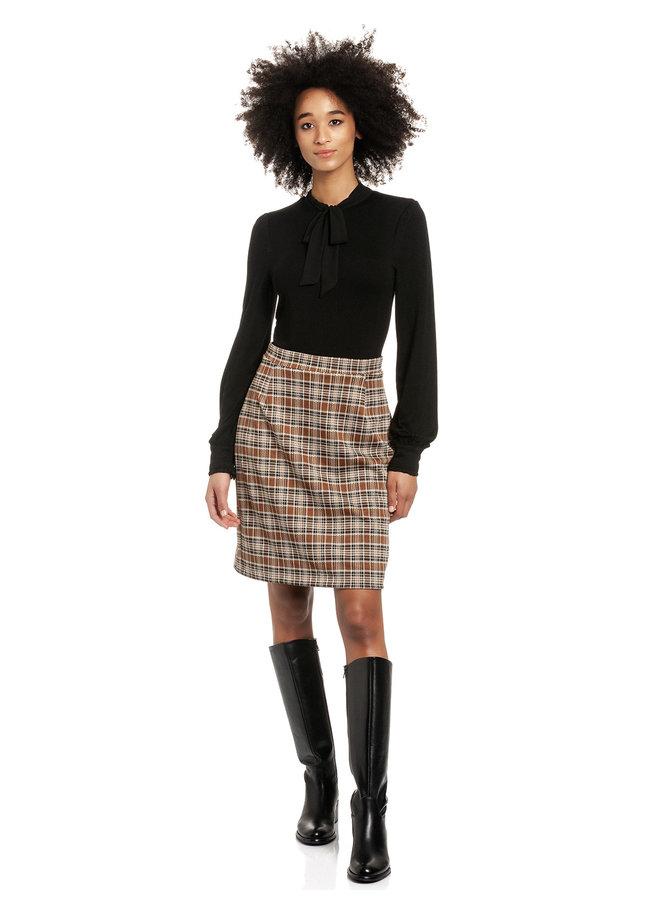 Preppy Day Damen Blusenkleid - allover