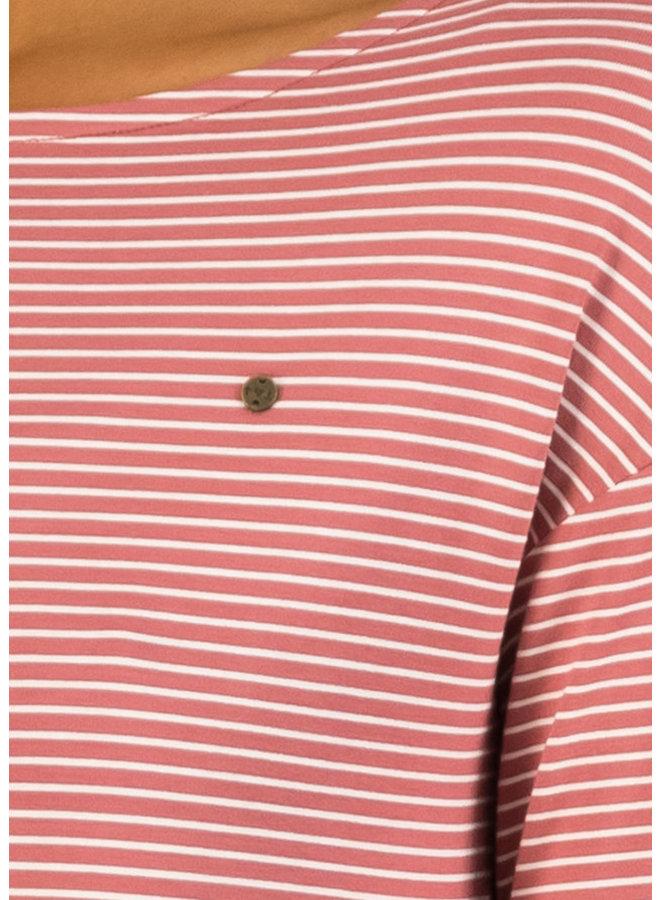 Longsleeve sweet sailorette - ash rose stripes
