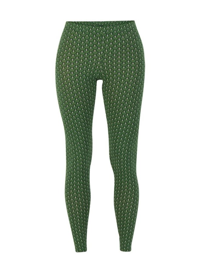 Leggings lovely legs - green dance