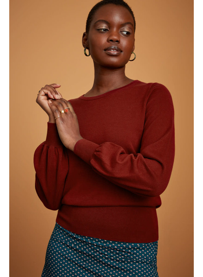 Pullover - Bell Top Cottonclub - Pecan Brown