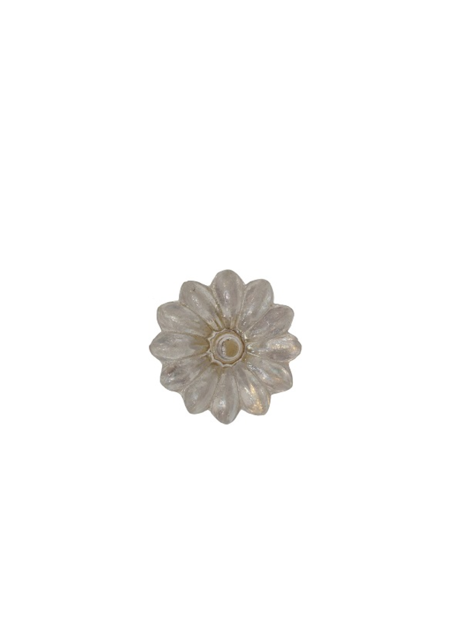 Möbelknopf  Glas Blume