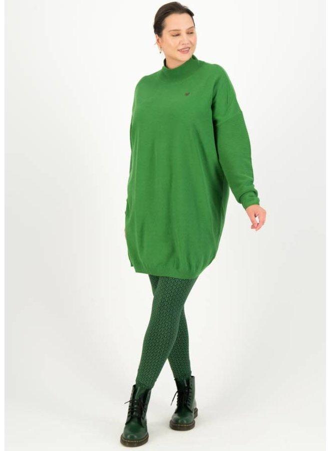 Rollkragenpullover straight n easy turtle - green classic