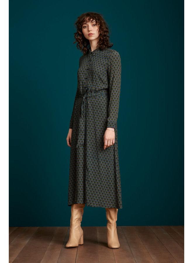 Kleid - Olive Dress Muffin - Tile Blue