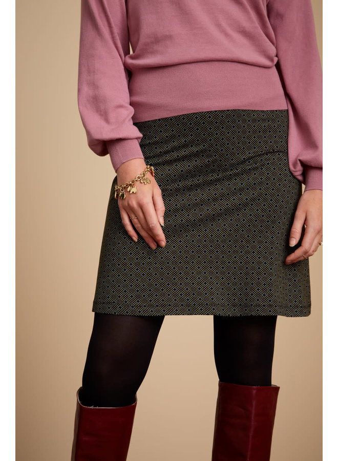 Rock - Border Skirt Goodwing - Black