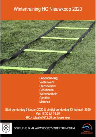 HC NIEUWKOOP WINTERTRAINING 2020| HC NIEUWKOOP
