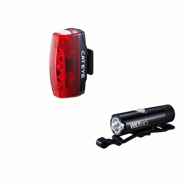 CatEye Cateye Volt 80XC & Rapid Micro USB Rechargeable Lights Set