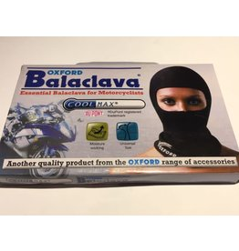 BALACLAVA OXFORD COOLMAX BLACK