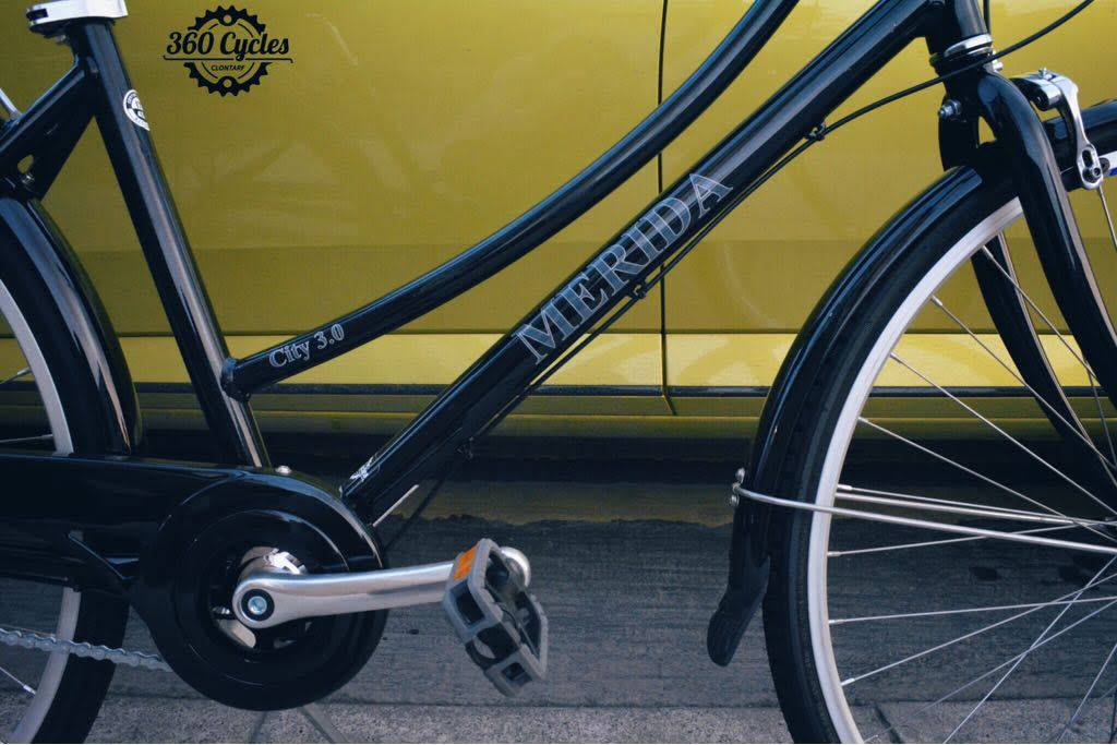 Merida Merida City 3 LDS 2017 (Dutch style, 3 Speed, back pedal brake)