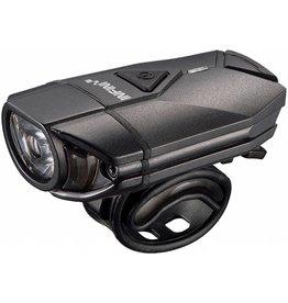 Infini Super Lava 300 lumen USB front light with bar and helmet brackets Black