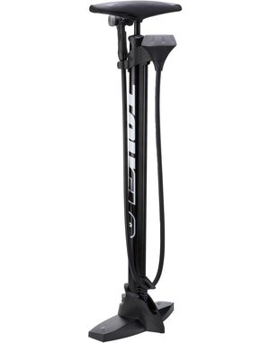 Truflo Truflo Maxtrax 3 track/floor pump with top mounted gauge Black