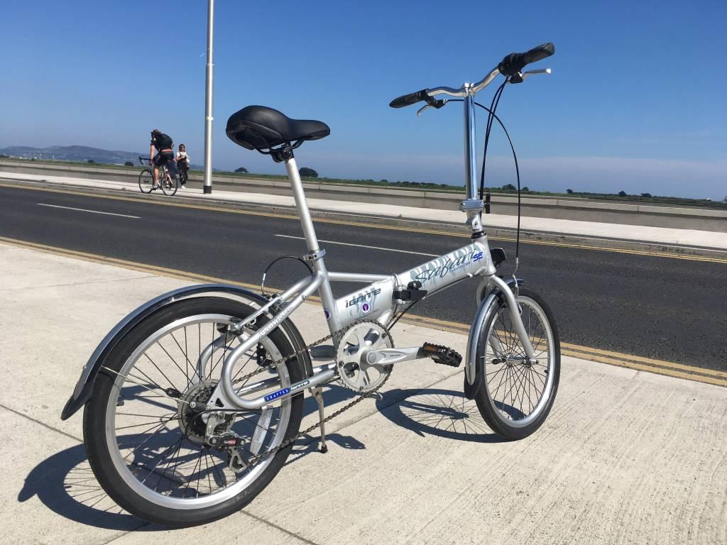 Second Hand S/H Ignite Safari SE folding bike Silver (Private Sale)