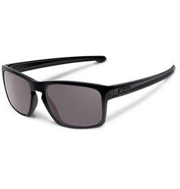 Oakley SUNGLASSES OAKLEY SLIVER POLISHED BLACK WITH PRIZM BLACK LENS