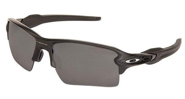 Oakley SUNGLASSES OAKLEY FLAK 2.0 XL MATTE BLACK WITH POLARIZED BLACK LENS