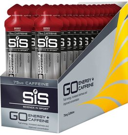SIS Nutrition ENERGY GEL SIS GO PLUS CAFFEINE  60ML **BOX OF 30