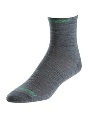 Pearl Izumi Mens Pearl Izumi ELITE Wool Sock, Shadow Grey