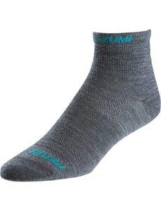 Pearl Izumi Womens Pearl Izumi ELITE Wool Sock, Shadow Grey