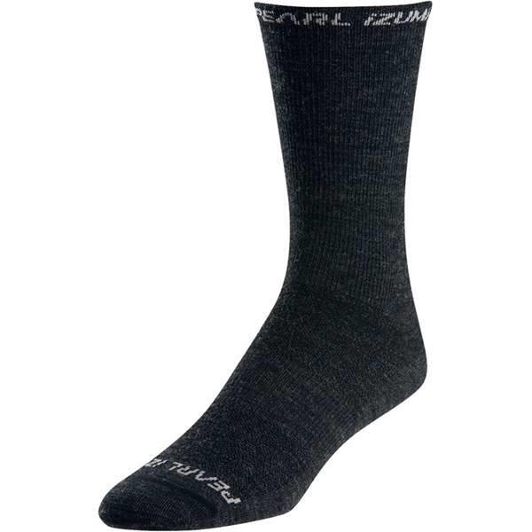 Pearl Izumi Unisex Pearl Izumi ELITE Tall Wool Sock, Black