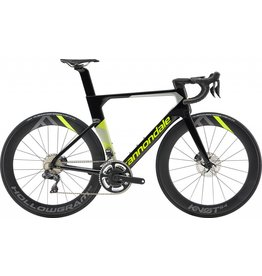 Cannondale Cannondale SystemSix Hi-MOD Ultegra Di2 Road Bike 2019 Black/Grey/Green