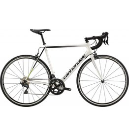 Cannondale Cannondale SuperSix Evo Ultegra Carbon Road Bike 2019 White/Black