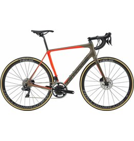Cannondale Cannondale Synapse Hi-Mod Disc Dura-Ace Di2 Road Bike 2019 Brown/Orange