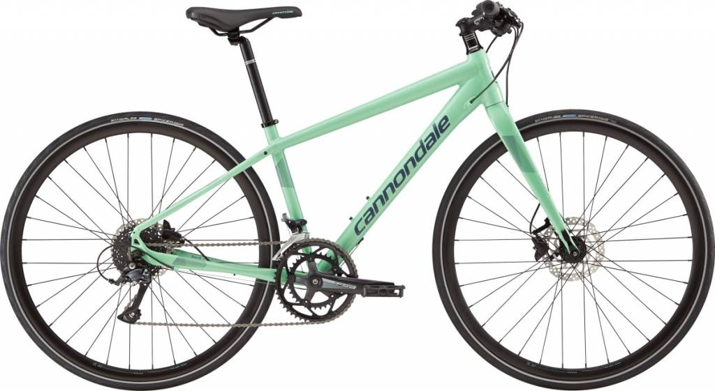 Cannondale Cannondale Quick Disc Womens 3 City Bike 2019 Teal/Grey