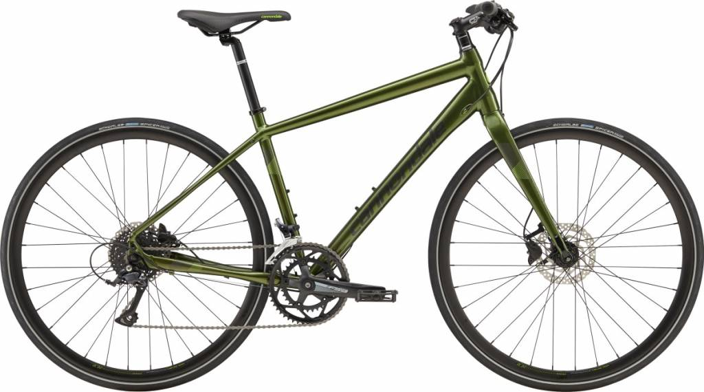 Cannondale Cannondale Quick Disc 3 City Bike 2019 Dark Green/Grey