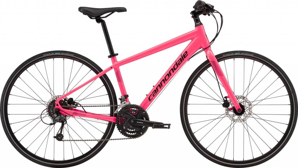 Cannondale Cannondale Quick Disc Womens 4 City Bike 2019 Pink/Black