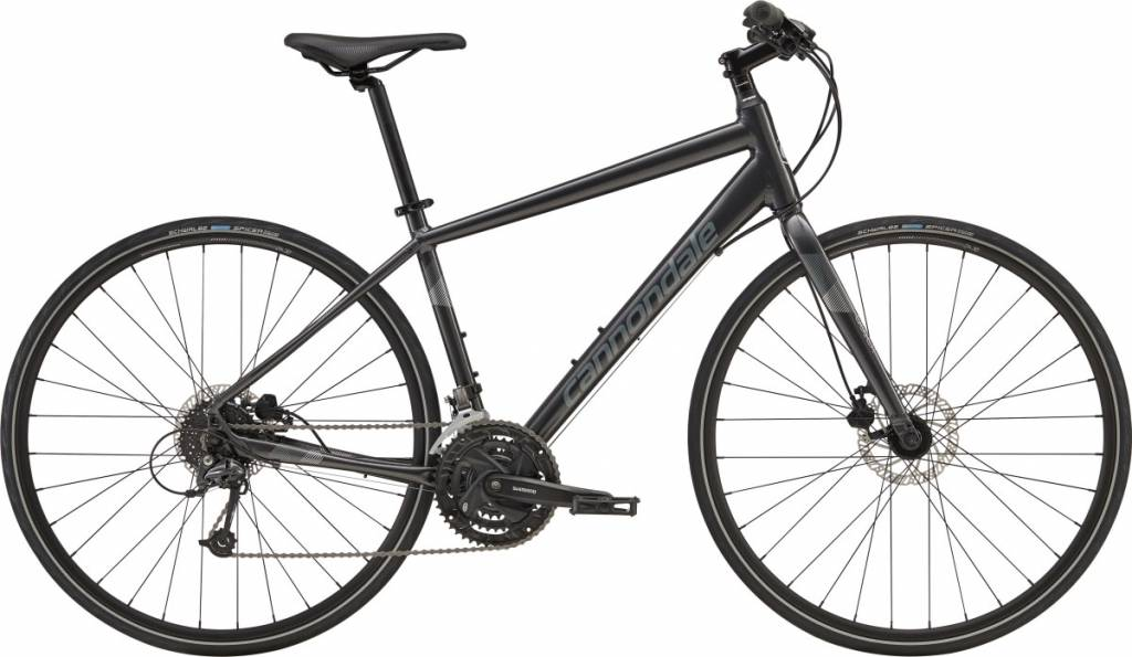 Cannondale Cannondale Quick Disc 4 City Bike 2019 Dark Grey/Grey