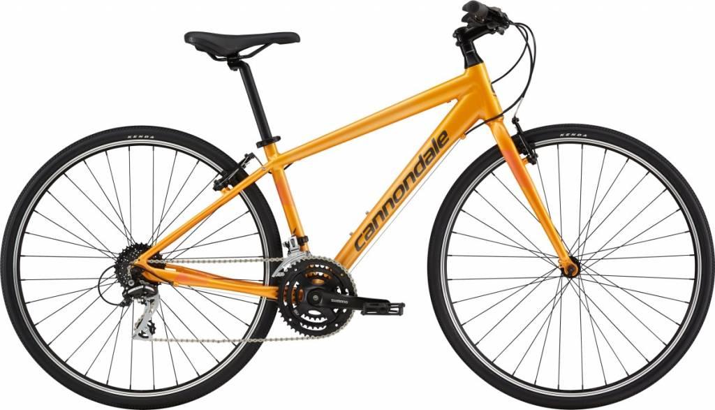 Cannondale Cannondale Quick 7 Womens City Bike 2019 Orange/Grey