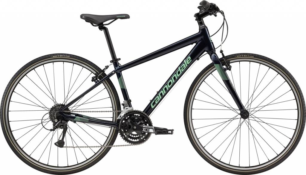 Cannondale Cannondale Quick 6 Womens City Bike 2019 Dark Blue/Teal