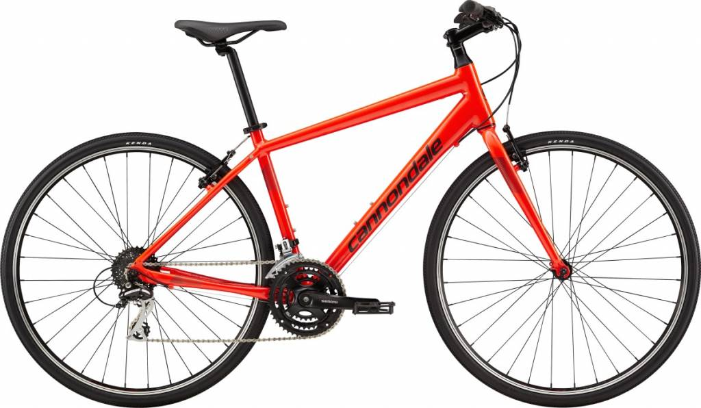 Cannondale Cannondale Quick 7 City Bike 2019 Red/Grey