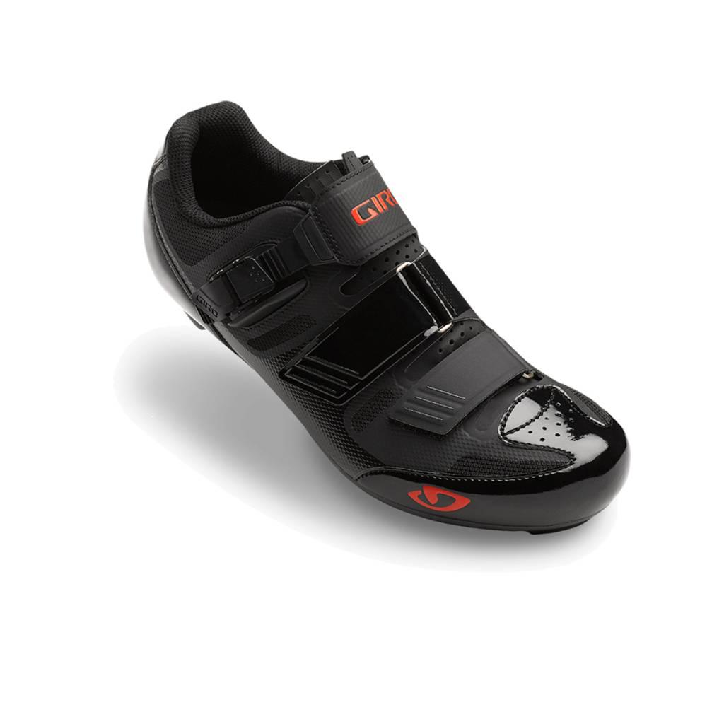 Giro GIRO APECKX II HV ROAD SHOES BLACK/BRIGHT RED