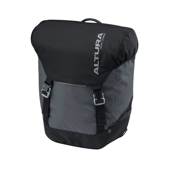 Altura Altura Dryline 2 32 Litre Pannier Bags (Pair), Grey/Black