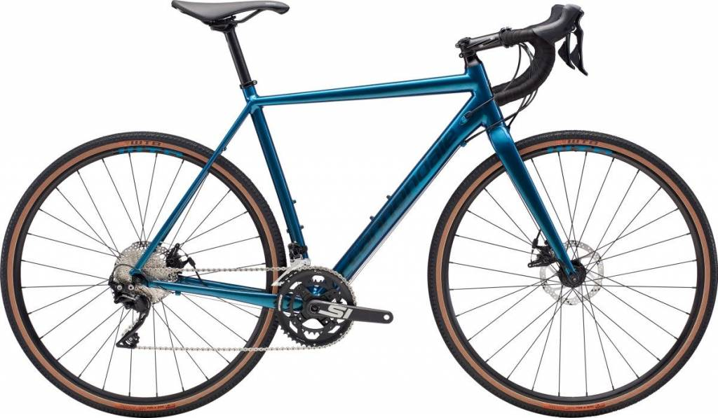 Cannondale Cannondale CAADX SE 105 DTE Cyclocross Bike 2019 Blue