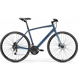 Merida Merida Crossway Urban 40 Matt Steel Blue/Silver Blue /Red 2019