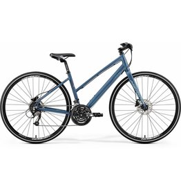 Merida Merida Crossway Urban 40 - Women's Matt Steel Blue/Silver Blue /Red 2019