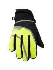 Madison Madison Avalanche womens waterproof gloves, black / hi-viz yellow 2018/2019