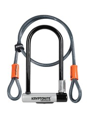 Kryptonite Kryptonite KryptoLok Standard U-Lock with 4 foot Kryptoflex cable (1.2m)