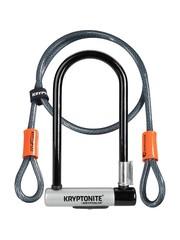 Kryptonite Kryptonite Kryptolok Standard U-Lock with Kryptoflex Cable 4 Feet (1.2 Metres) Sold Secure Gold