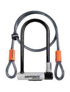Kryptonite Kryptonite KryptoLok Standard U-Lock with 4 foot Kryptoflex cable (1.2m)