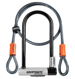 Kryptonite Kryptonite Standard U-Lock with 4 foot Kryptoflex cable
