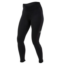 Pearl Izumi Pearl Izumi Womens Sugar Thermal Cycling Tight, Black with pink stitch