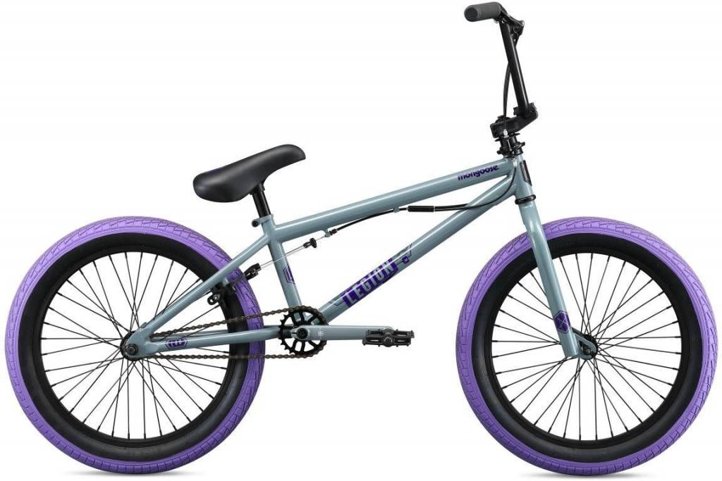 MONGOOSE Mongoose Legion L40 BMX Bike 2019 20w Grey/Purple