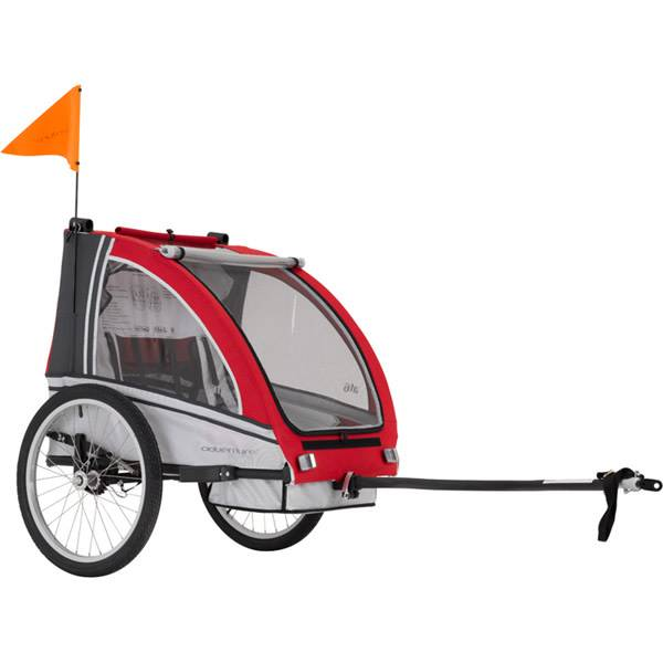 Adventure Adventure AT6 - alloy 2-seater bicycle trailer