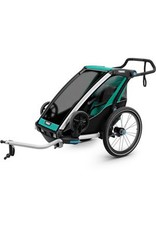 Thule Thule Chariot Lite 1 U.K. certified child carrier with cycling and strolling kit Blue Single