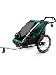 Thule Thule Chariot/Trailer Lite 1 U.K. certified child carrier with cycling and strolling kit Blue Single