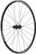 Shimano Wheel700 Shimano WH-RS100 clincher wheel, 9/10/11-speed, 130 mm Q/R axle, rear, black