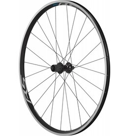 Shimano Wheel700 Shimano WH-RS100 clincher wheel, 9/10/11-speed, 130 mm Q/R axle, rear, black