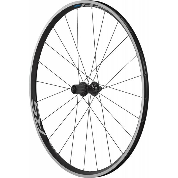 Shimano Wheel700c Shimano WH-RS100 clincher wheel, 9/10/11-speed, 130 mm Q/R axle, rear, 700c black
