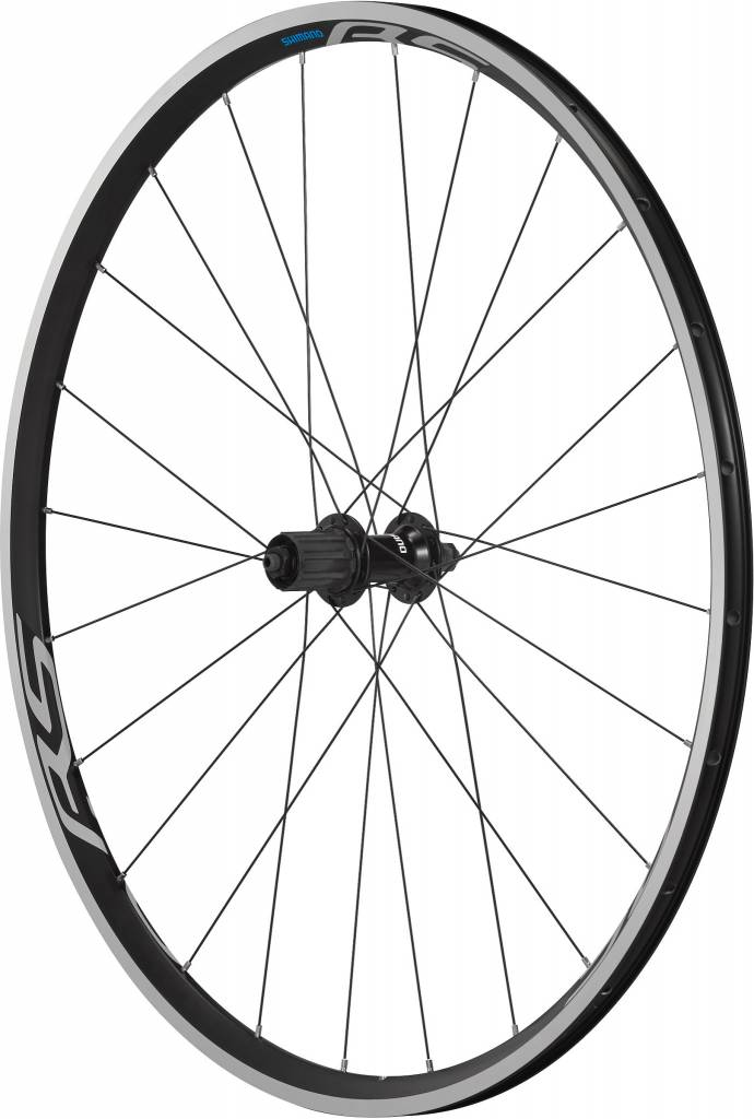 Shimano Wheel700c Shimano WH-RS100 clincher wheel, 9/10/11-speed, 130 mm Q/R axle, rear, black